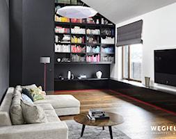 Dom pod Konstancinem - Salon - zdjęcie od Węgiełek Architekci Wnętrz - Homebook
