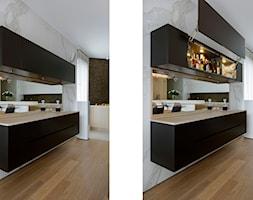Salon z kuchnią - Kuchnia - zdjęcie od Węgiełek Architekci Wnętrz - Homebook