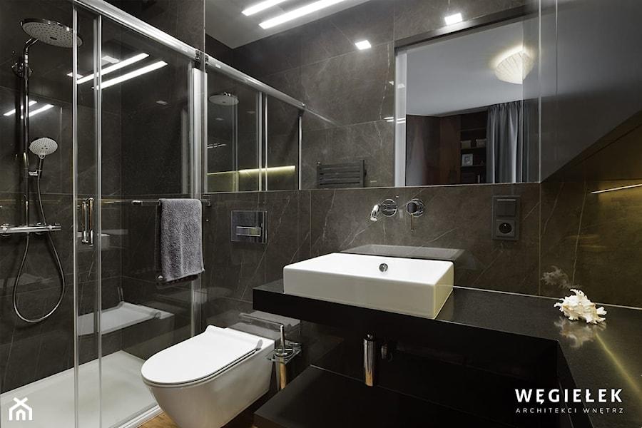 łazienka - Łazienka - zdjęcie od Węgiełek Architekci Wnętrz