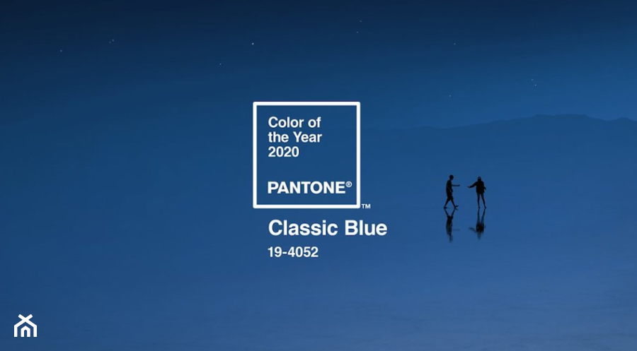 Color of the Year 2020 PANTONE 19-4052 Classic Blue - zdjęcie od imadesign