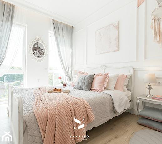 Romantyczna sypialnia – jak ją urządzić? Sprawdź aranżacje w romantycznym stylu