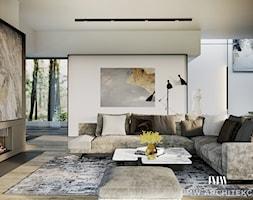 WOKOŁO LAS - Salon - zdjęcie od JMW Architekci - Homebook