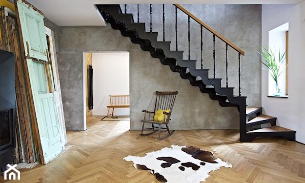 stylowe schody w stylu vintage