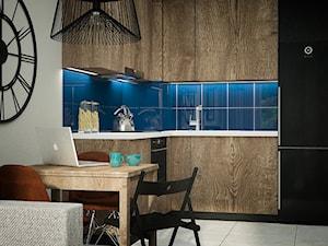 Mieszkanie w męskim charakterze - zdjęcie od Izabela Jurkiewicz Projektowanie Wnętrz
