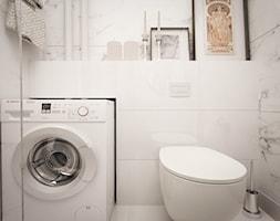 Mała łazienka - zdjęcie od Izabela Jurkiewicz Projektowanie Wnętrz