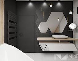 Dom 140,0m2 we Wrząsowicach - Łazienka, styl nowoczesny - zdjęcie od INNers - architektura wnętrza - Homebook