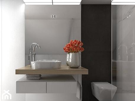 Aranżacje wnętrz - Łazienka: Dom 200m2 w Puławach - Średnia łazienka, styl nowoczesny - INNers - architektura wnętrza. Przeglądaj, dodawaj i zapisuj najlepsze zdjęcia, pomysły i inspiracje designerskie. W bazie mamy już prawie milion fotografii!