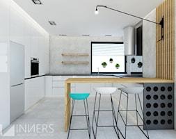 Dom 140,0m2 we Wrząsowicach - Kuchnia, styl nowoczesny - zdjęcie od INNers - architektura wnętrza - Homebook