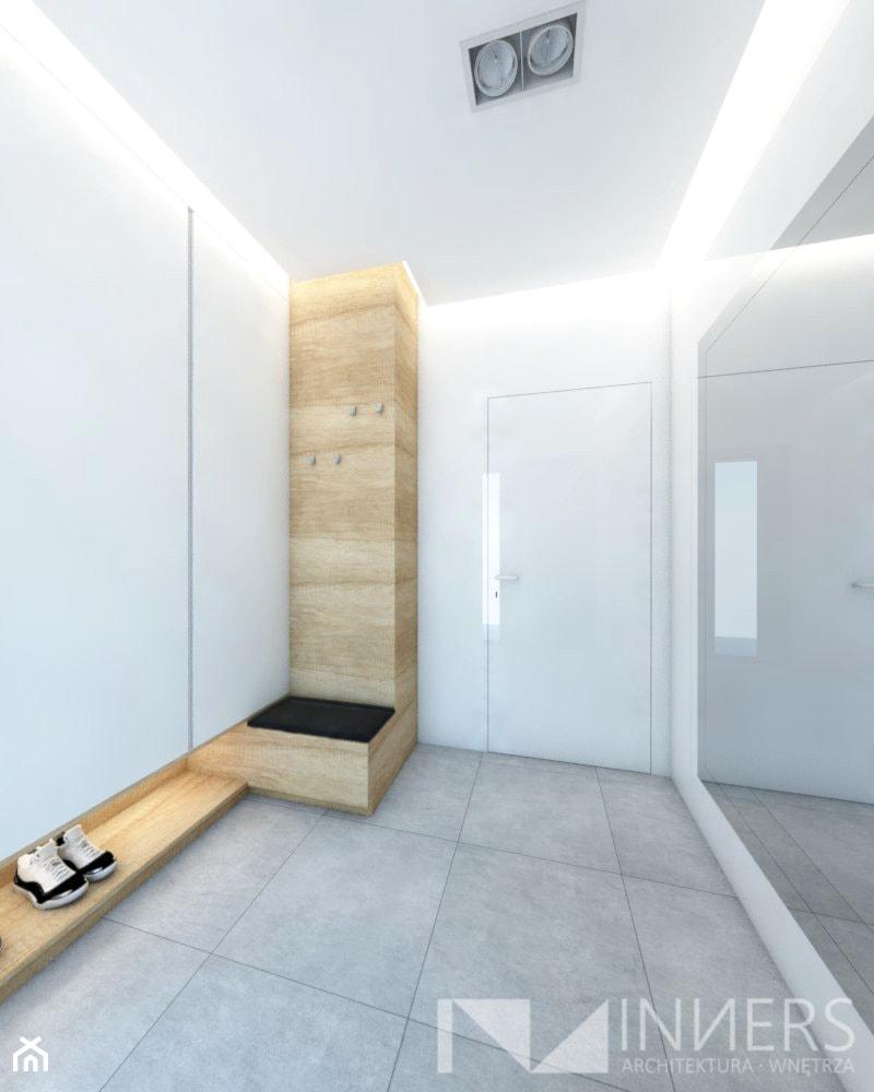 Dom 140,0m2 we Wrząsowicach - Hol / przedpokój, styl nowoczesny - zdjęcie od INNers - architektura wnętrza