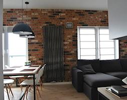 Mieszkanie W Stylu Loft Salon Styl Industrialny Zdjęcie Od