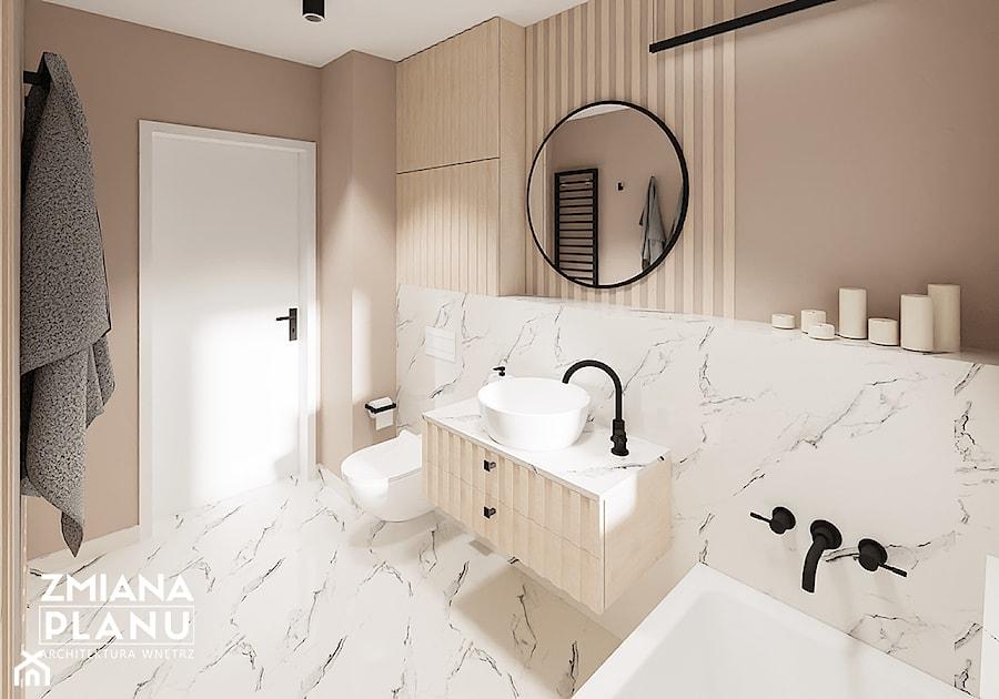 Modernistyczna łazienka - zdjęcie od Zmiana Planu
