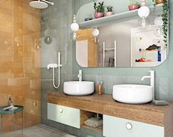 łazienka Z Pomarańczowymi Płytkami Aranżacje Pomysły