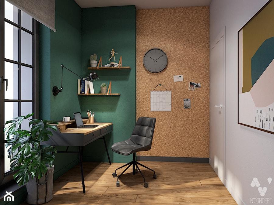 Aranżacje wnętrz - Biuro: Stary Spichlerz - Biuro, styl eklektyczny - N'concept. Przeglądaj, dodawaj i zapisuj najlepsze zdjęcia, pomysły i inspiracje designerskie. W bazie mamy już prawie milion fotografii!