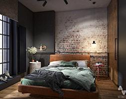 Sypialnia Styl Industrialny