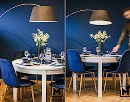 Stół w jadalni. - zdjęcie od Studio M kwadrat | architektura wnętrz
