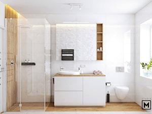 Przytulna i elegancka łazienka