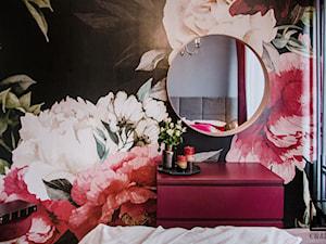 Romantyczna i elegancka sypialnia