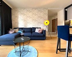 Mieszkanie na wynajem - Salon, styl nowoczesny - zdjęcie od Inka Studio - Homebook