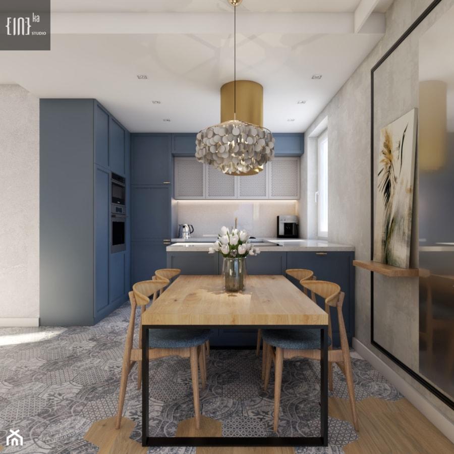 Mid-Century Modern - Kuchnia, styl eklektyczny - zdjęcie od Inka Studio