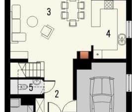 QUATTRO projekty domów - Architekt budynków