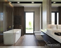 łazienka Z Kamieniem Dekoracyjnym Na ścianie Aranżacje