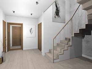 Dom w Tychach - Schody - zdjęcie od Room no. 7