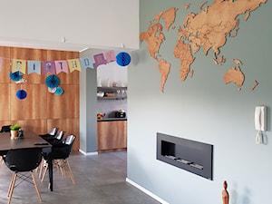 SIKORKA.NET - Drewniane mapy świata na ścianę - Producent