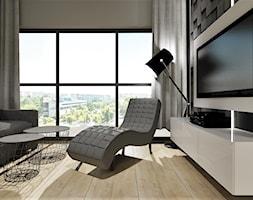 Mieszkanie w stylu nowoczesnym w Opolskim apartamentowcu - Salon, styl nowoczesny - zdjęcie od MG Design - Homebook