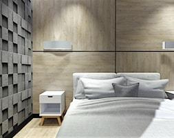 Mieszkanie w stylu nowoczesnym w Opolskim apartamentowcu - Sypialnia, styl nowoczesny - zdjęcie od MG Design - Homebook