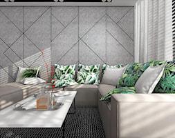 Salon+z+dekoracyjn%C4%85+%C5%9Bcian%C4%85+TV+-+zdj%C4%99cie+od+MG+Design