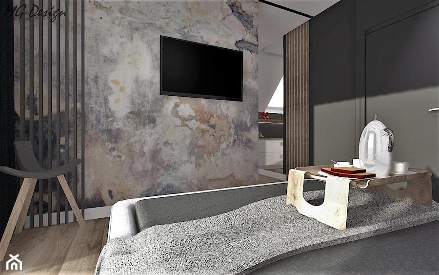 Aranżacje wnętrz - Sypialnia: Dom w Lędzinach - Sypialnia, styl nowoczesny - MG Design. Przeglądaj, dodawaj i zapisuj najlepsze zdjęcia, pomysły i inspiracje designerskie. W bazie mamy już prawie milion fotografii!