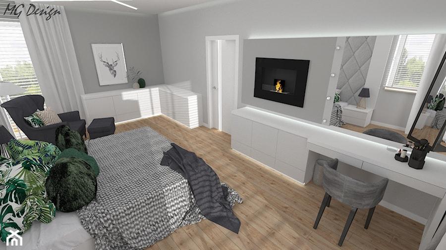 Sypialnia małżeńska - zdjęcie od MG Design