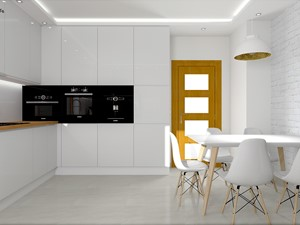 Kuchnia w bieli - Ozimek