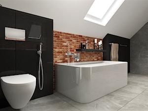 Łazienka z wanną i prysznicem - zdjęcie od MG Design