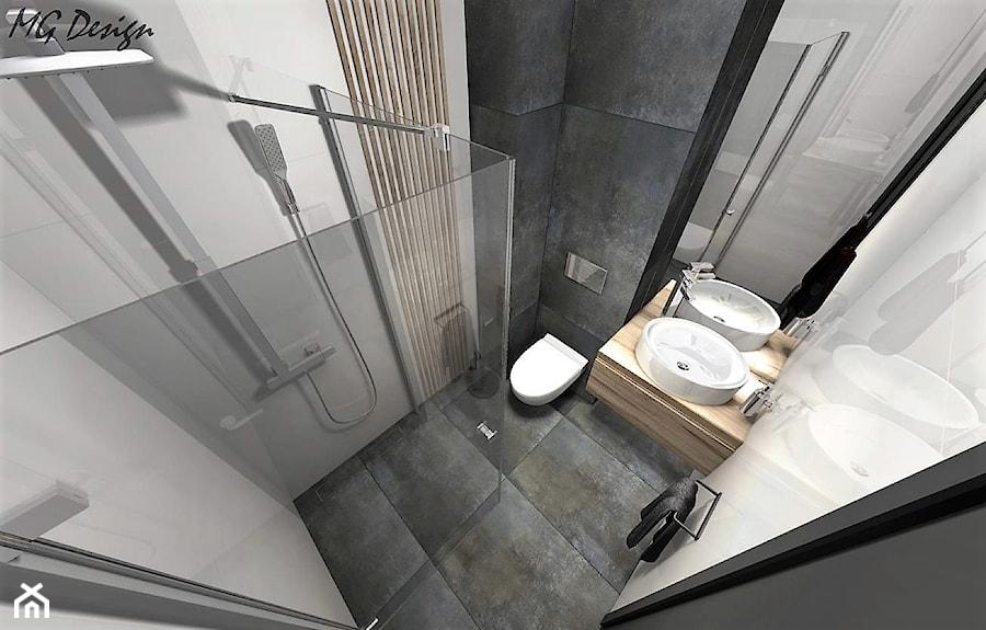 Dom w Lędzinach - Łazienka, styl nowoczesny - zdjęcie od MG Design
