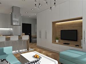 Skandynawskie mieszkanie w apartamentowcu Oleander w Opolu