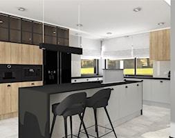 Kuchnia otwarta na jadalnię - zdjęcie od MG Design - Homebook