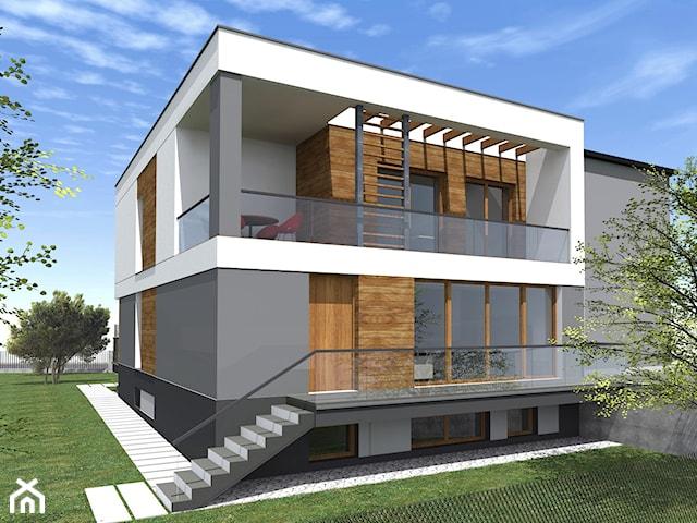 Przebudowa domu-kostki w Warszawie