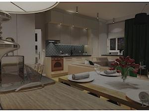 Mieszkanie 54m2 w stylu nowojorskim.