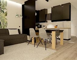Kuchnia i jadalnia z salonem - zdjęcie od Projekty Wnętrz DOYS - Homebook