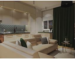 Salon z kuchnią - zdjęcie od Projekty Wnętrz DOYS - Homebook
