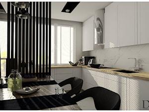 Salon z kuchnią i przedpokój około 40m2