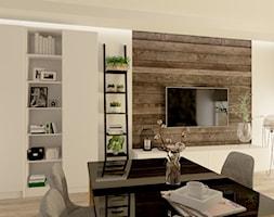 Kuchnia z salonem - zdjęcie od Projekty Wnętrz DOYS - Homebook