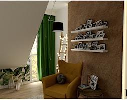 Sypialnia na poddaszu - zdjęcie od Projekty Wnętrz DOYS - Homebook