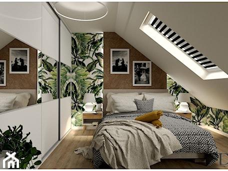 Aranżacje wnętrz - Sypialnia: Sypialnia na poddaszu - Projekty Wnętrz DOYS. Przeglądaj, dodawaj i zapisuj najlepsze zdjęcia, pomysły i inspiracje designerskie. W bazie mamy już prawie milion fotografii!