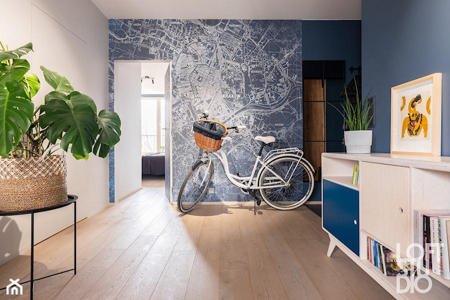 Krakowskie mieszkanie - Hol / przedpokój, styl skandynawski - zdjęcie od Loftstudio