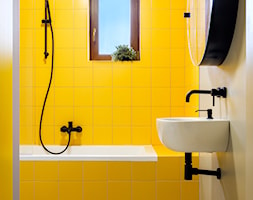 Apartament z kolorem - Łazienka, styl nowoczesny - zdjęcie od Loftstudio - Homebook