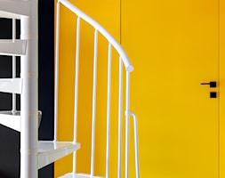 Apartament z kolorem - Salon, styl nowoczesny - zdjęcie od Loftstudio - Homebook