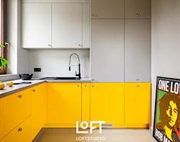 Apartament z kolorem - Kuchnia, styl nowoczesny - zdjęcie od Loftstudio - Homebook