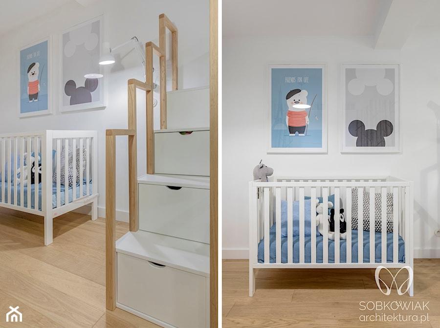 Aranżacje wnętrz - Pokój dziecka: Biała sypialni dzieci w skandynawskim stylu - Sobkowiak Architektura . Przeglądaj, dodawaj i zapisuj najlepsze zdjęcia, pomysły i inspiracje designerskie. W bazie mamy już prawie milion fotografii!